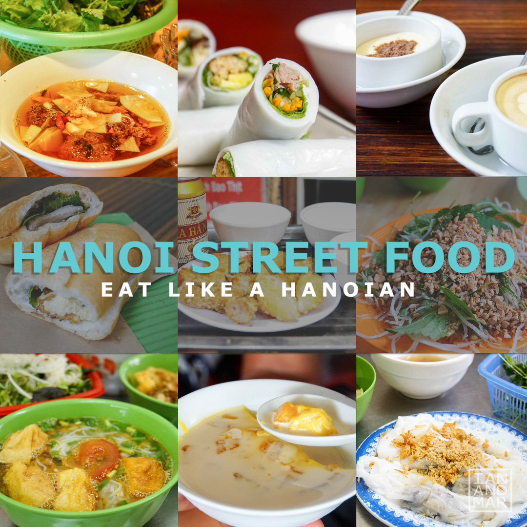 STREET FOOD TOUR IN HANOI | Ian and Mar