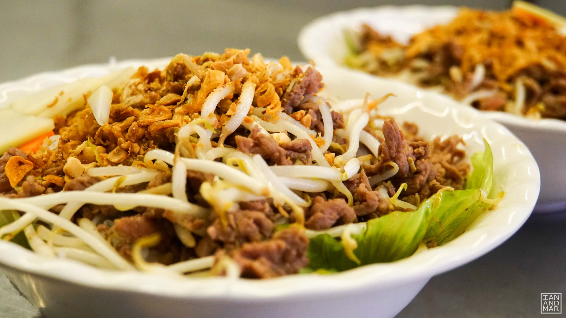 vietnamese stir fried beef noodles