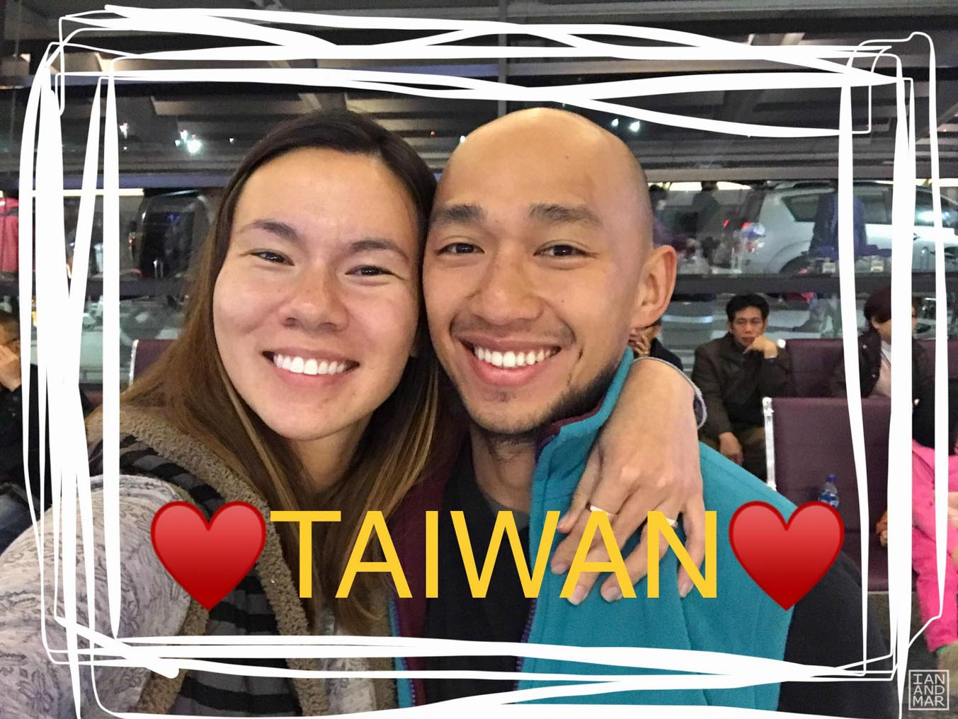 asian couple in taiwan