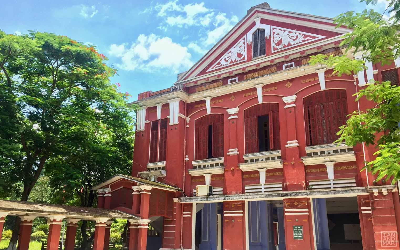 french building in vietnam