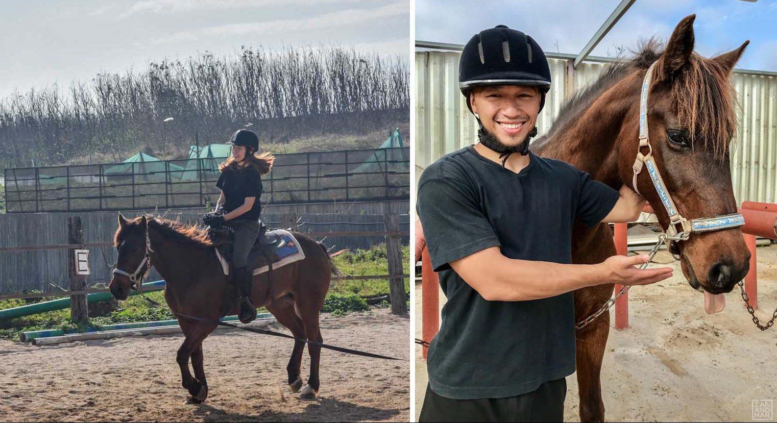 horseback ridign