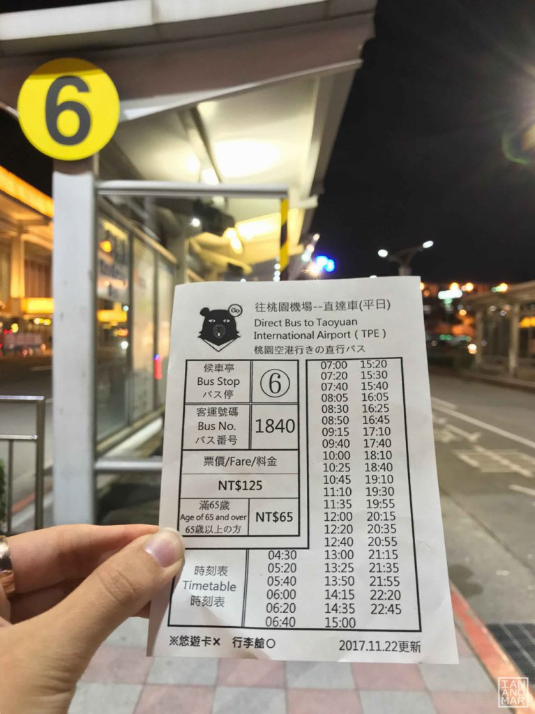 Taipei Airports : Shuttle from Songshan to Taoyuan | Ian and Mar