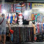 clothes sold at night market