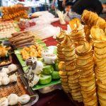 street snacks at a night market