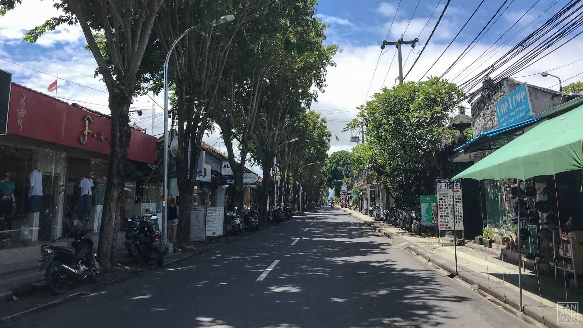 street in Bali
